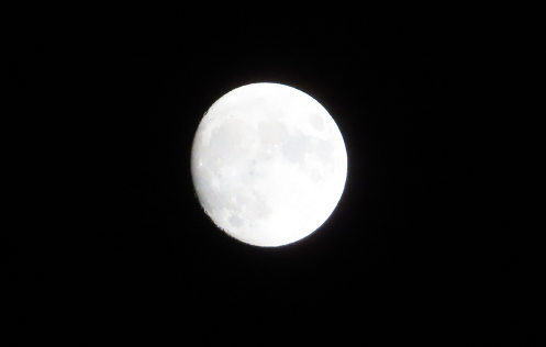 13夜の月